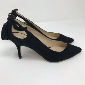 MARC FISHER SUEDE PUMPS